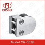 Broche en verre de balustrade d'acier inoxydable de qualité pour le tube de balustrade (CR-053B)