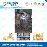 Linha de produção enchimento do suco de Rinser e máquina Monobloc do capsulador