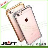 Het hoogwaardige Hybride Geval TPU Cellphone van het Ontwerp van het Luchtkussen Schokbestendige Beschermende voor iPhone 6 (rjt-0240)
