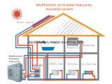 Охлаждать топления снабжения жилищем и горячая вода в реальном маштабе времени все в одном тепловом насосе инвертора