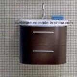 Governo di stanza da bagno moderno di stile del Brown con vanità di ceramica della stanza da bagno del bacino