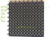 Tuile de verrouillage de paquet de base en plastique de tuiles de WPC DIY
