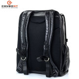 Chubont hohes Qualilty Laptop-Leder Bacpack