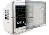 Moniteur patient de vente de multiparamètre de matériel chaud de diagnostic médical