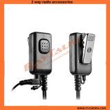 Duw om met Microfoon voor Bidirectioneel Radio & Ver Facultatief PTT van de Vinger te spreken