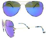 2016の高品質の新しい最新のモデル女性の方法特別なレンズのサングラス
