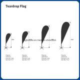Флаг пляжа Teardrop напольный рекламировать флага пера напечатанный высоким качеством