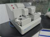 O PLC controla o cartão que dobra o equipamento de teste resistente da força