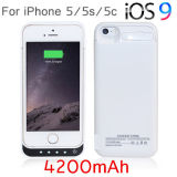 4200mAh External Power Bank Charger Pack Backup Battery Case voor iPhone 5g 5s 5c