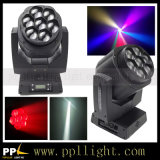 7 * 15W RGBW LED Bee Eye Zoom Beam Moving Head Light