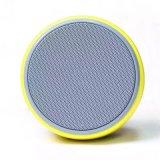 Haut-parleur sans fil portatif actif de Bluetooth de forme ronde mini pour la télévision