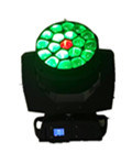 大きい19X15W蜂目のビームズームレンズの洗浄回転レンズLEDの段階ライト