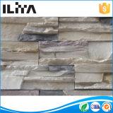 Pedra cultural artificial, telha da parede para a decoração (63021), painéis de imitação do tijolo, tijolo de incêndio perfurado