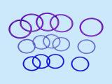 Колцеобразное уплотнение уплотнения изготовленный на заказ высокого качества водоустойчивое NBR/FKM/EPDM/Viton/Silicone OEM резиновый