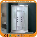 Ducha de cristal del cuarto de baño de la estera (ADL-826B)