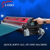 Máquina completa da imprensa da tala de Holo para a correia transportadora