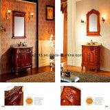 Festes Holz-klassische Badezimmer-Eitelkeit