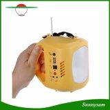 Iluminação de emergência portátil recarregável 1 lanterna LED lâmpada de acampamento com carregador AC Painel solar lâmpada de viagem e caminhadas ao ar livre