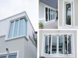 Finestra di alluminio della stoffa per tendine di vetratura doppia