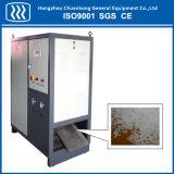 Granulador do gelo seco que faz a máquina