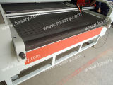 Кожаный цена гравировального станка лазера одежды тканья ткани