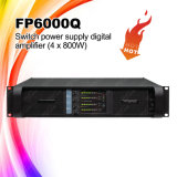 Amplificador de potencia audio de Fp6000q y de Fp10000q 4channel Digitaces