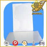 Strato rigido lucido bianco del PVC