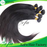 Выдвижение волос девственницы Remy Unprocessed бразильских человеческих волос 100% Weft