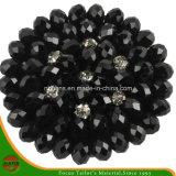 Flor negra de acrílico de la manera
