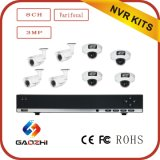 Caméra IP Sécurité 3MP 8CH Poe NVR Kits