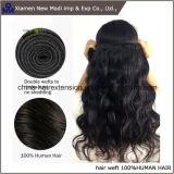 Weave do cabelo humano da onda do corpo do cabelo humano do Virgin