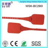 China-Plastikdichtungs-Lieferanten-Fertigung-rote Plastikbehälter-Dichtung