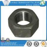 Stahlsechskantmutter-Kategorie 8 pro Ende des Schwarz-DIN934