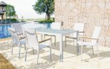 Silla amontonable del patio del ocio al aire libre europeo moderno del jardín