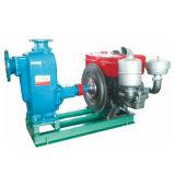Bomba de água de escorvamento automático do motor Diesel do Único-Cilindro pequeno