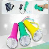 Lanterne di campeggio solari portatili mini con il poli comitato solare 1.7W