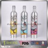 Botella de aluminio al por mayor del jugo