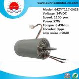 motor eléctrico de 24V 57W para la base