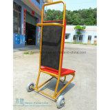 Вагонетка стула банкета 3 колес стальная для гостиницы (HW-9170)