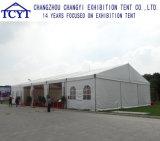 Tente romantique blanche de mariage d'église de bâti en aluminium