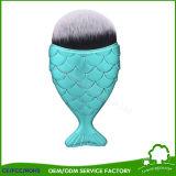 El mejor cepillo del maquillaje de la fundación con los cepillos del cosmético de la dimensión de una variable de los pescados