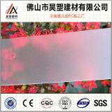 Het berijpte Plastic Blad van PC van Foshan Lexan van het Dakwerk van het Blad van het Polycarbonaat Stevige