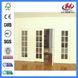 Двери шкафа нутряные отлитые в форму Bifold стеклянные (Jhk-G26)