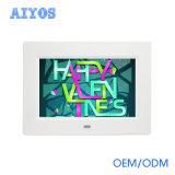 """Facendo pubblicità cornice della foto dell'affissione a cristalli liquidi Digital alla visualizzazione 8 """" da Aiyos"""