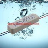 bloc d'alimentation de 12V6.3A DEL/lampe en plastique/bande flexible IP67 imperméable à l'eau