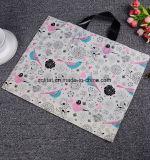 Saco de plástico plástico material de /Die-Cut do saco de compra de Po/Lepe com punho