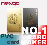 IDENTIFICATION RF Smart Card de puce de la fin de support 125kHz Tk4100 de proximité de prix de gros