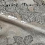 Tela de seda de Fstl028 Lurex, Chiffon metálico de seda. Tela metálica de seda do grampo