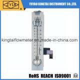 Flussometro di a sezione variabile con l'interruttore di limite dell'allarme