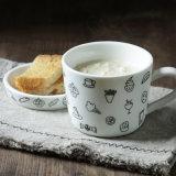 De leuke Mok van de Koffie van 10 Oz Dezert Ceramische